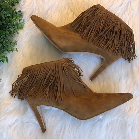 43e59b97b2a3cf NWOB Sam Edelman Kandice Brown Suede Ankle Boots. M 5b9845b9f414527defa2451e